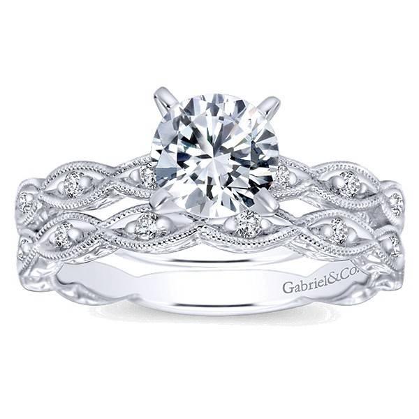Gabriel & Co Wb4122 diamond band