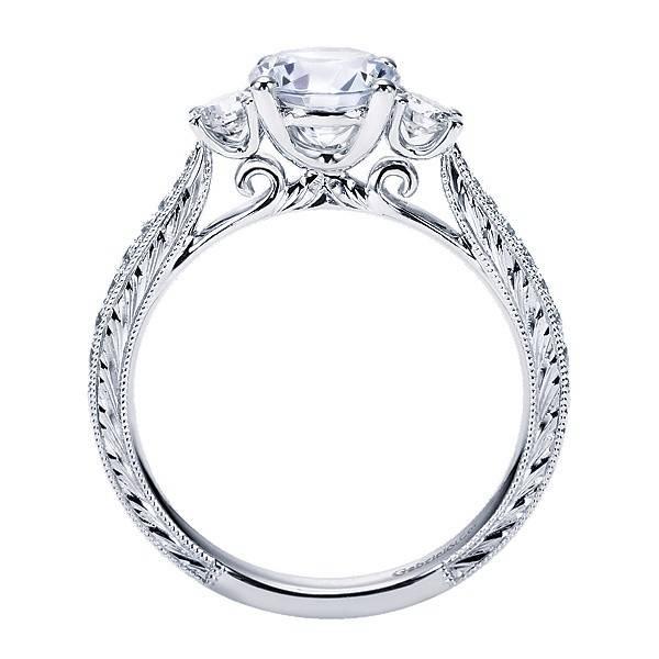 Gabriel & Co ER7288 3 stone ring