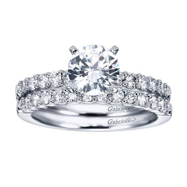 Gabriel & Co WB6874 diamond wedding band