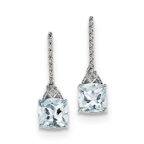 QE9957AQ aquamarine earrings