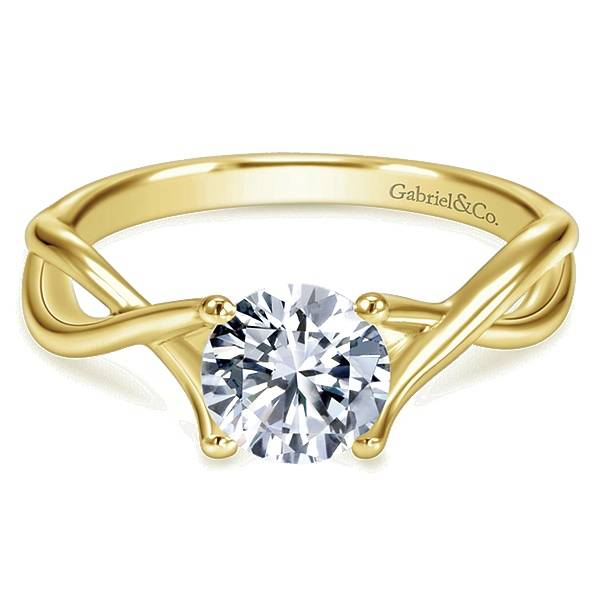 split gabrielandco instagram perfect creative modern gold girl diamond engagement rings pave via solitaire for band your round twist oh so