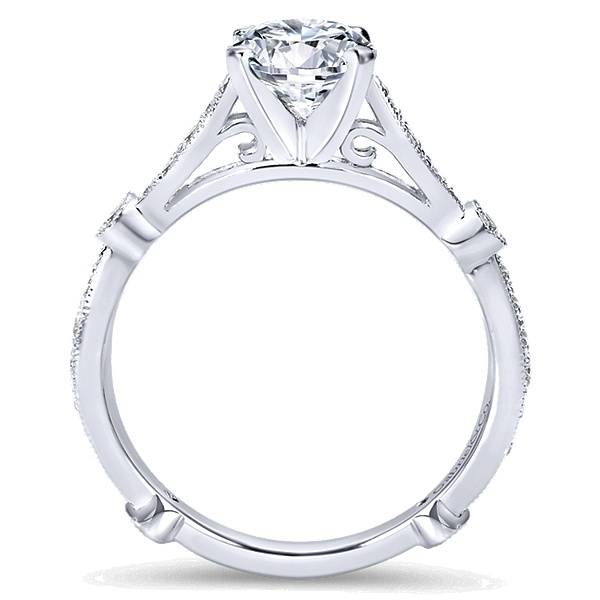 Gabriel & Co ER6711 Victorian Engagement Ring