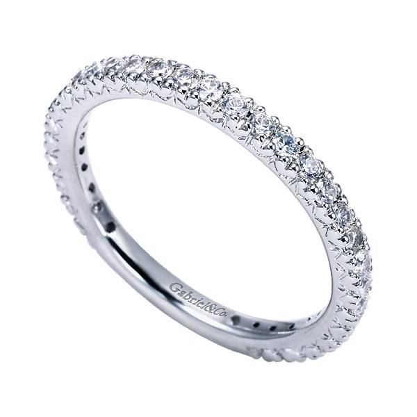 Gabriel & Co WB4126 Diamond Wedding Band