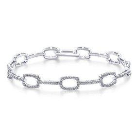 TB4036W45JJ diamond tennis bracelet