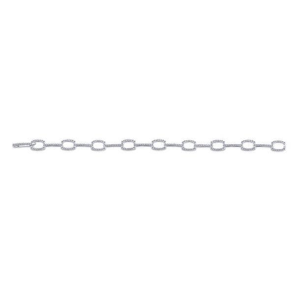 Gabriel & Co TB4036W45JJ diamond tennis bracelet