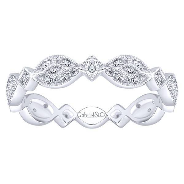 LR4800 stackable diamond band