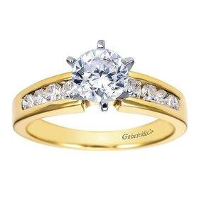 ER2200 Channel Set Engagement Ring