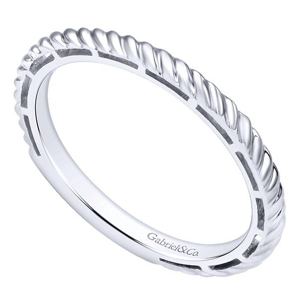 Gabriel & Co LR4582 Cable style stackable band