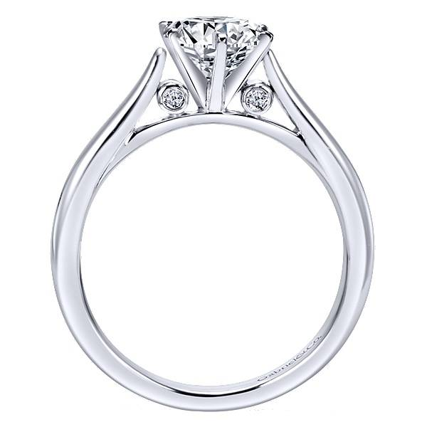 Gabriel & Co ER6668  Round 6-prong Solitaire