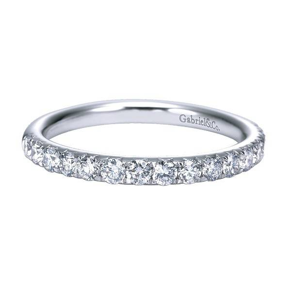 Gabriel & Co AN7625 diamond wedding band