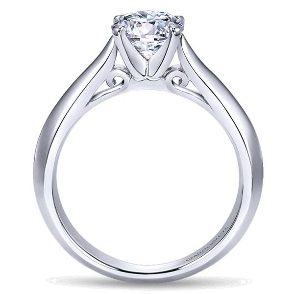 Gabriel & Co ER8296 Knife Edge Solitaire