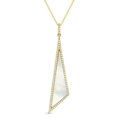 Madison L DN4924 mother of pearl necklace