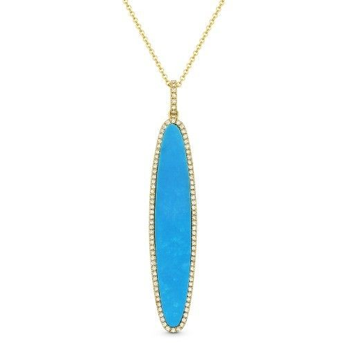 Madison L DN4972 turquoise necklace