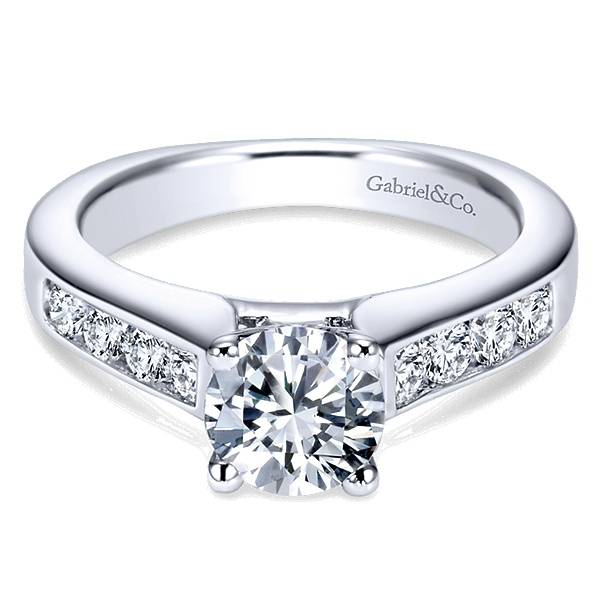 Gabriel & Co ER3962 Anderson 0.51ct. 6.5mm.