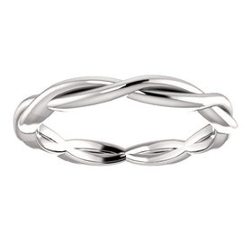 51778 infinity wedding band