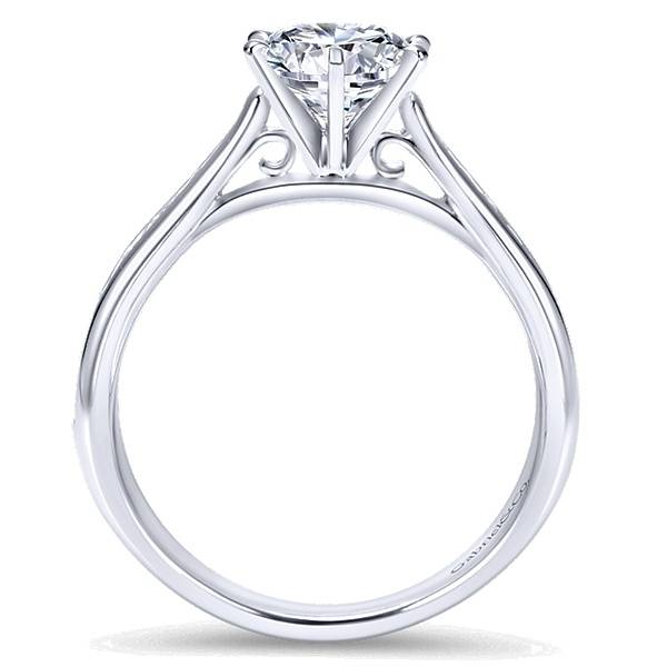 Gabriel & Co ER7229 Danielle Channel Set 0.33 carat