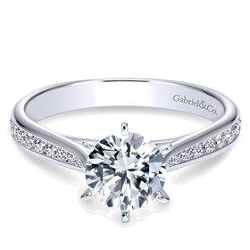 ER7229 Danielle Channel Set 0.33 carat