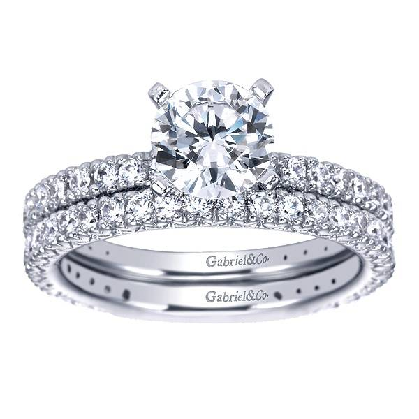 Gabriel & Co ER4126 Prong Set Engagement Ring
