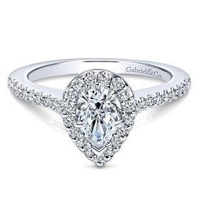 ER5828 Pear Shape Halo