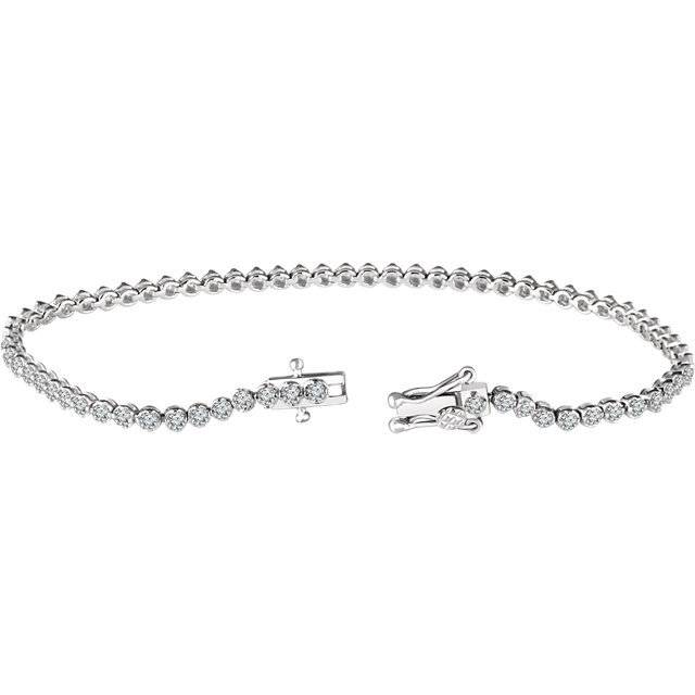 Stuller 652831 diamond tennis bracelet