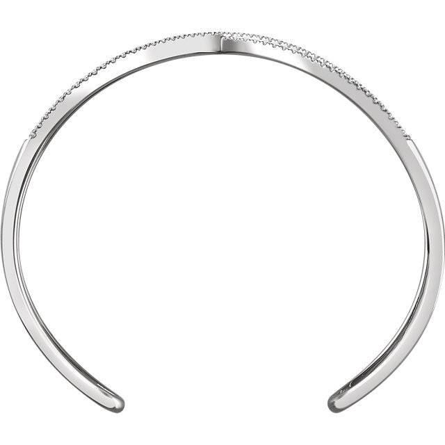 Stuller 652350 Criss Cross Cuff Bracelet