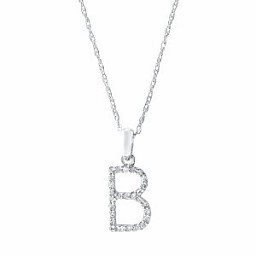 Yellow gold diamond initial necklace freedman jewelers boston sabrina cp457 yellow gold diamond initial necklace mozeypictures Image collections