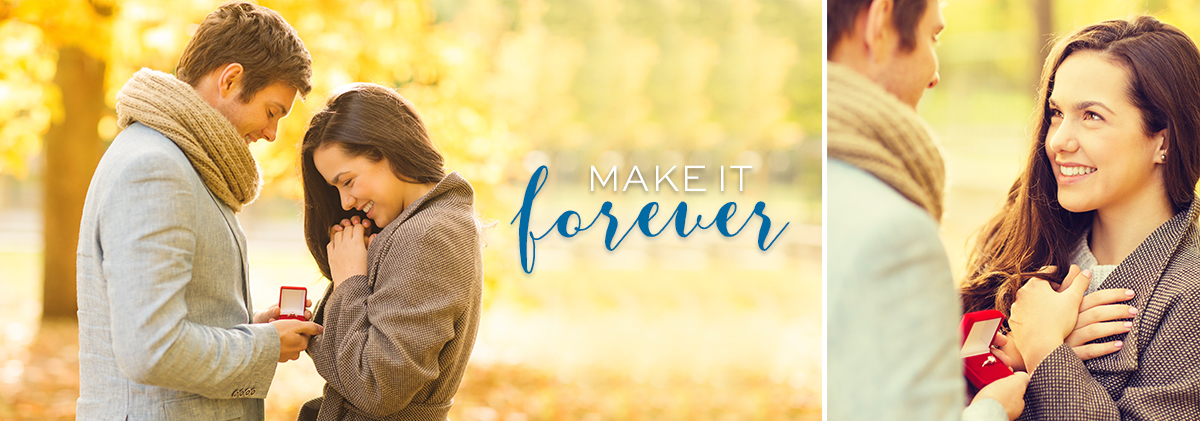 Make it Forever with Engagement Rings at Freedman Jewelers, Boston.
