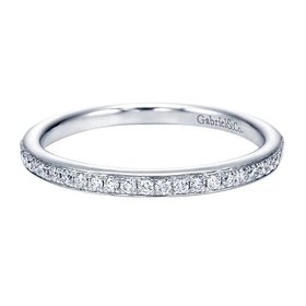 WB7537 channel bead set diamond band