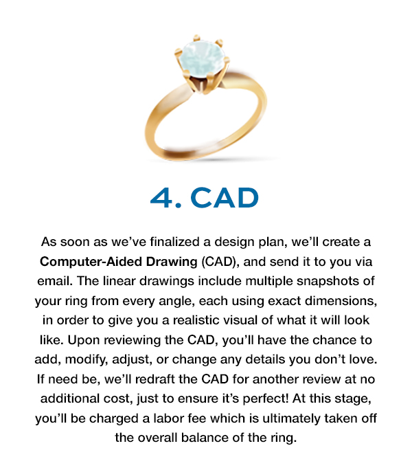 Freedman Jewelers - Custom Design Process: CAD