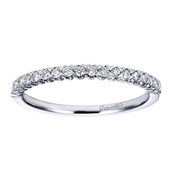 scalloped shared prong diamond wedding band freedman jewelers