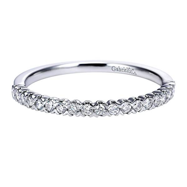 Gabriel & Co AN7610 diamond wedding band