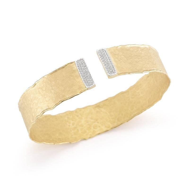 I. Reiss BIR382Y 14kt yellow gold cuff bracelet