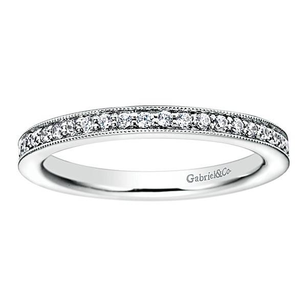 AN6032 milgrain beadset eternity band