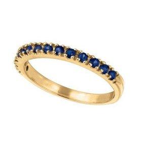 R5692YS blue sapphire band