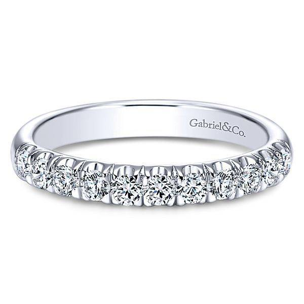 Gabriel & Co AN6072 diamond band 0.50ct 14k