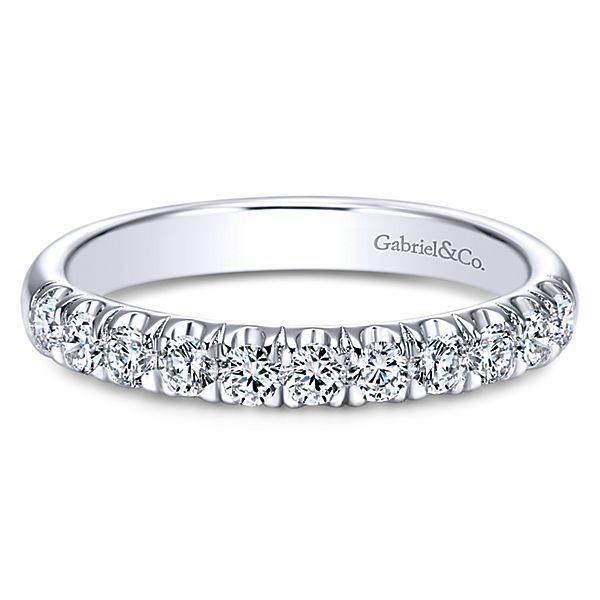 Gabriel & Co AN6072 pave diamond band