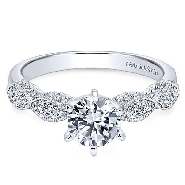 Clara Victorian Style Engagement Ring Setting