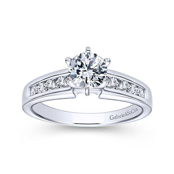 Gabriel & Co Rooney Channel Set Engagement Ring Setting
