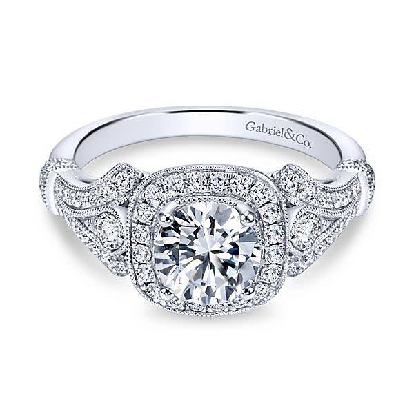 Gabriel & Co ER7479 Delilah Engagement ring mounting