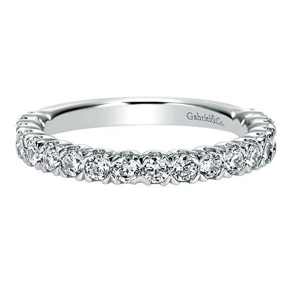 Gabriel & Co AN7612 shared prong diamond band