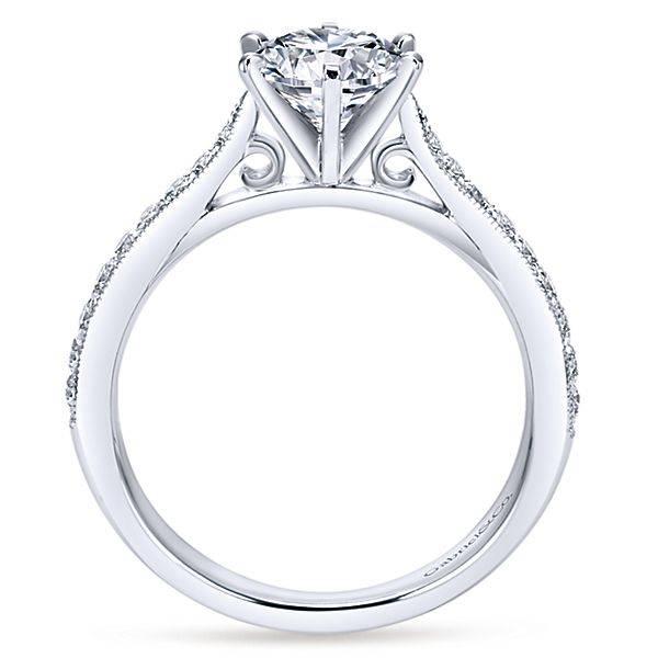 Gabriel & Co Sawyer engagement ring setting