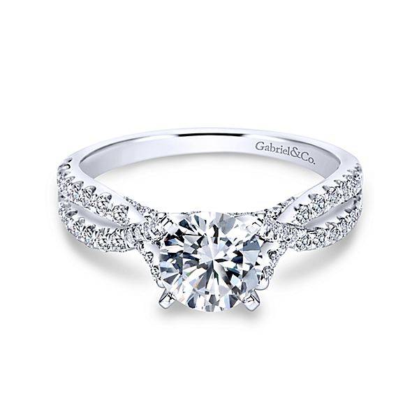Criss Cross Sapphire Ring