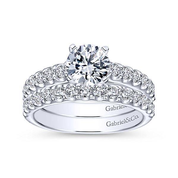 Gabriel & Co Sienna Prong Set Engagement Ring Setting