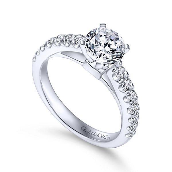 Gabriel Co ER4245 Contemporary Engagement Ring