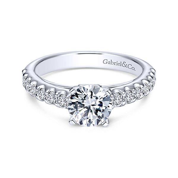 Gabriel & Co ER4245 Contemporary Engagement Ring