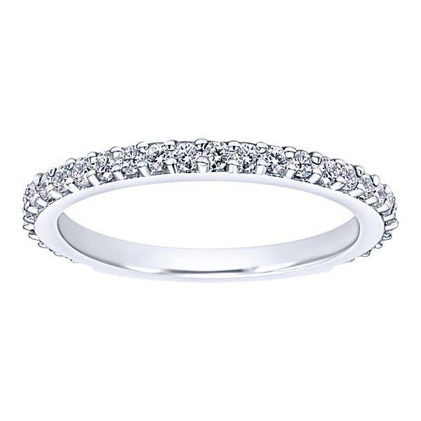 Gabriel Co LR4576 Diamond Wedding Band