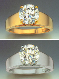 Freedman Diamonds - Diamond Color Setting
