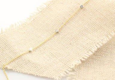 14kt gold diamond bezel bracelet
