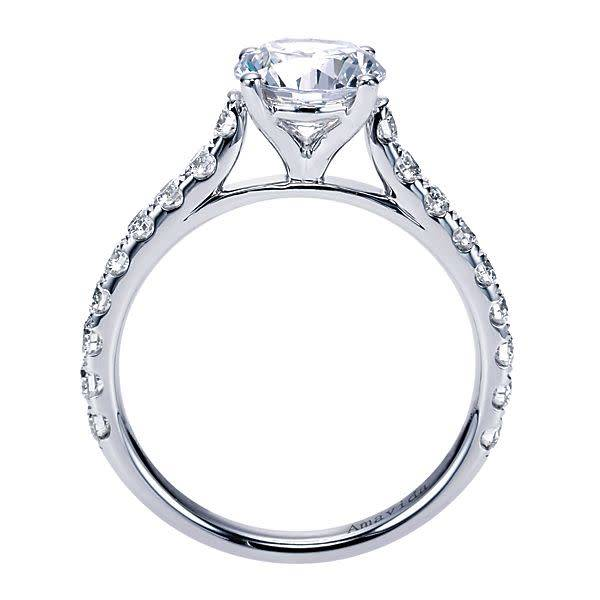 Gabriel & Co Luciole Shared Prong Diamond Setting