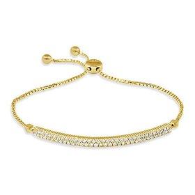 B263 Diamond Bolo Bracelet